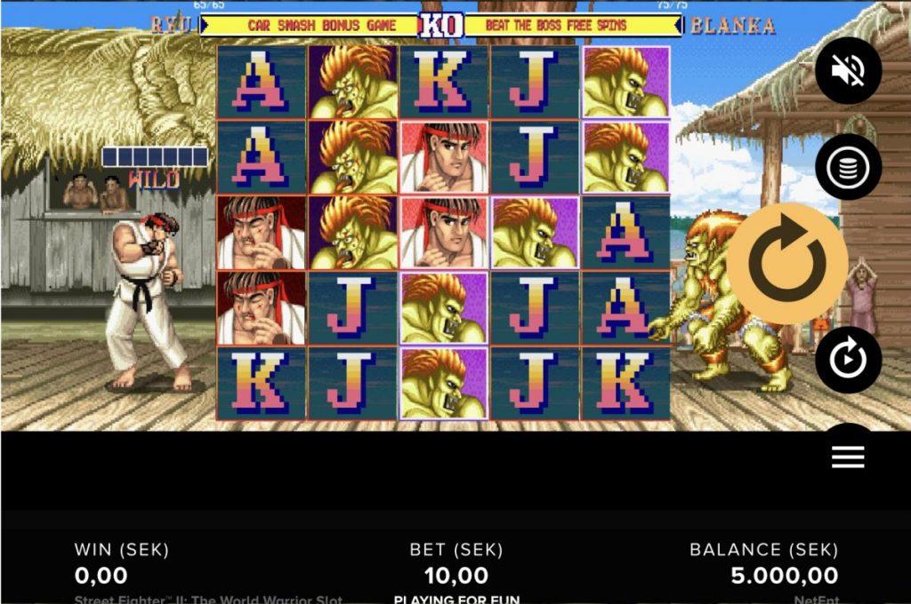 Street Fighter 2 The World Warrior-คาสิโน